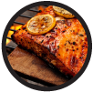 Honey Hot Planked Salmon